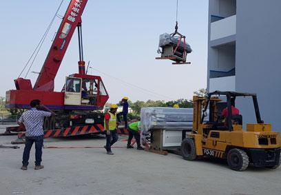 Forklift & Crane Rental
