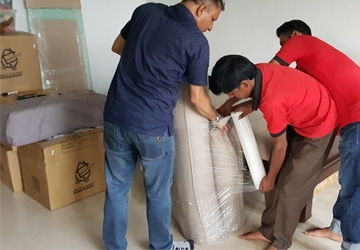 House shifting in Chittagong