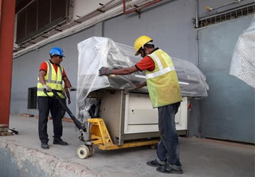 Machine & Equipment Moving