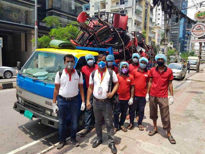 Office Furniture shifting service in Dhaka