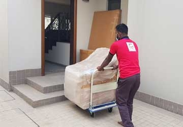 Furniture packing and shifting service