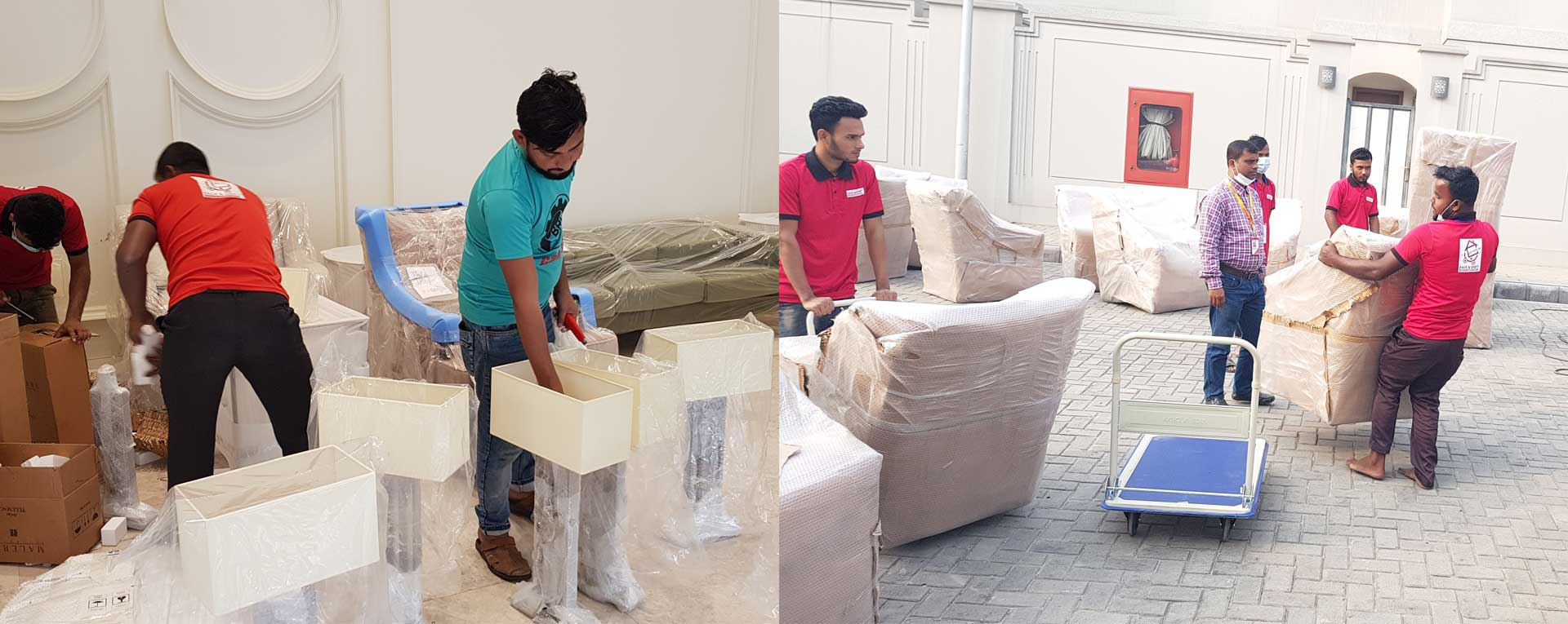 House shifting services by expert house movers